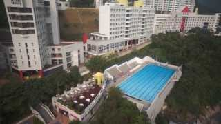 HKUST Aerial Photography by DJI