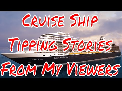 Cruise Ship Tipping Charges Should They Be Part of The Fare? Viewers Respond