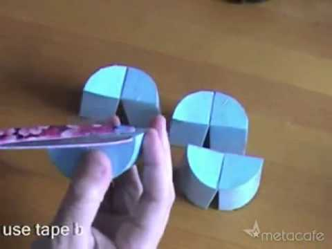 Crazy Paper Cylinder ! How To Make