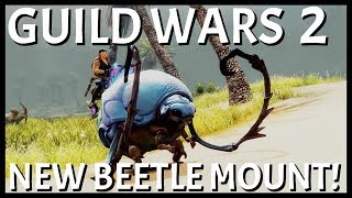 Guild Wars 2: New Beetle Mount Announced! | LWS4E3 Long Live The Lich Trailer Discussion