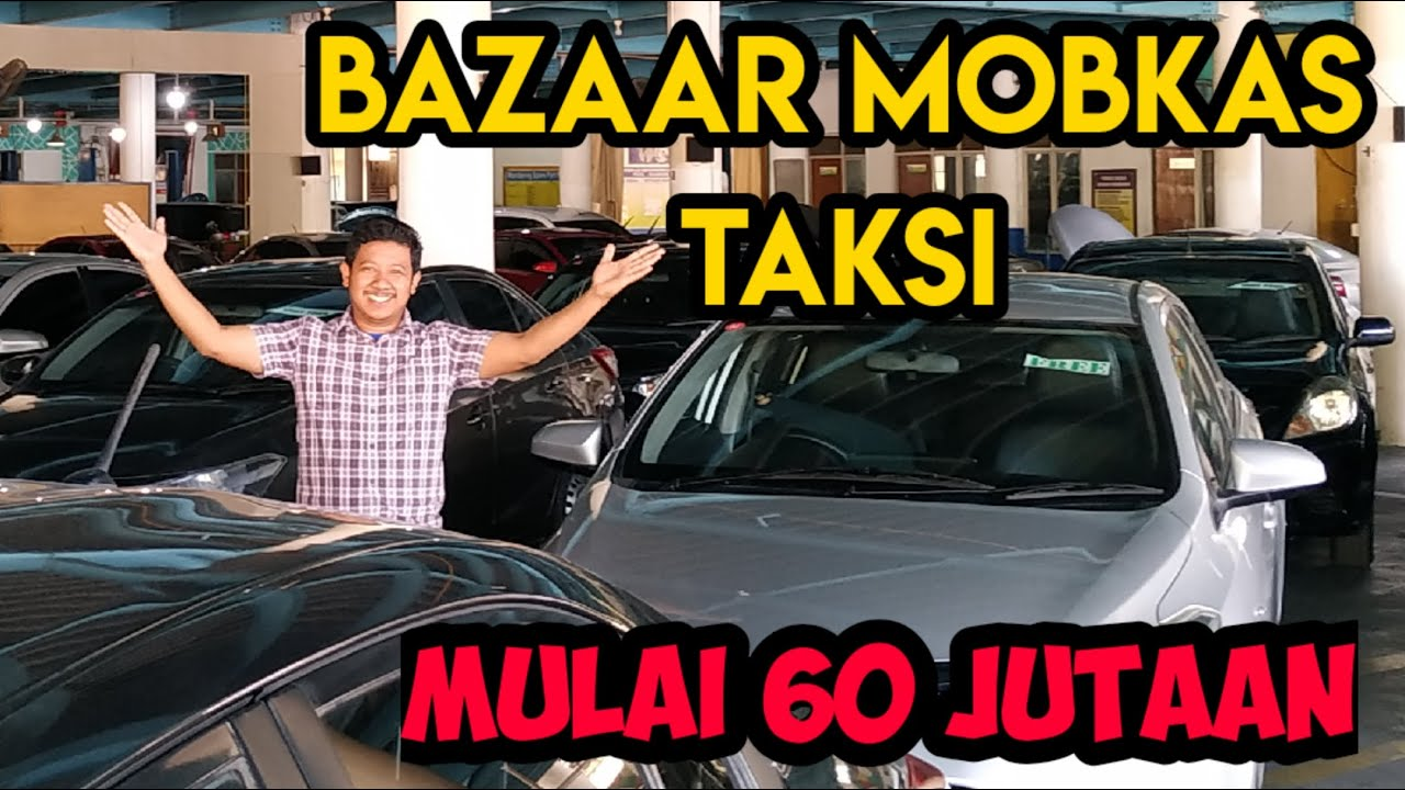 Liputan Bazaar mobkas taksi Bluebird Surabaya, Vioslimo, Almera ada yang 60 jutaan