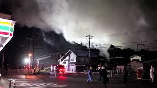 三条市北潟の火災