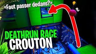 Croûton Race Show, une course Deathrun spéciale Croûton sur Fortnite Créatif !