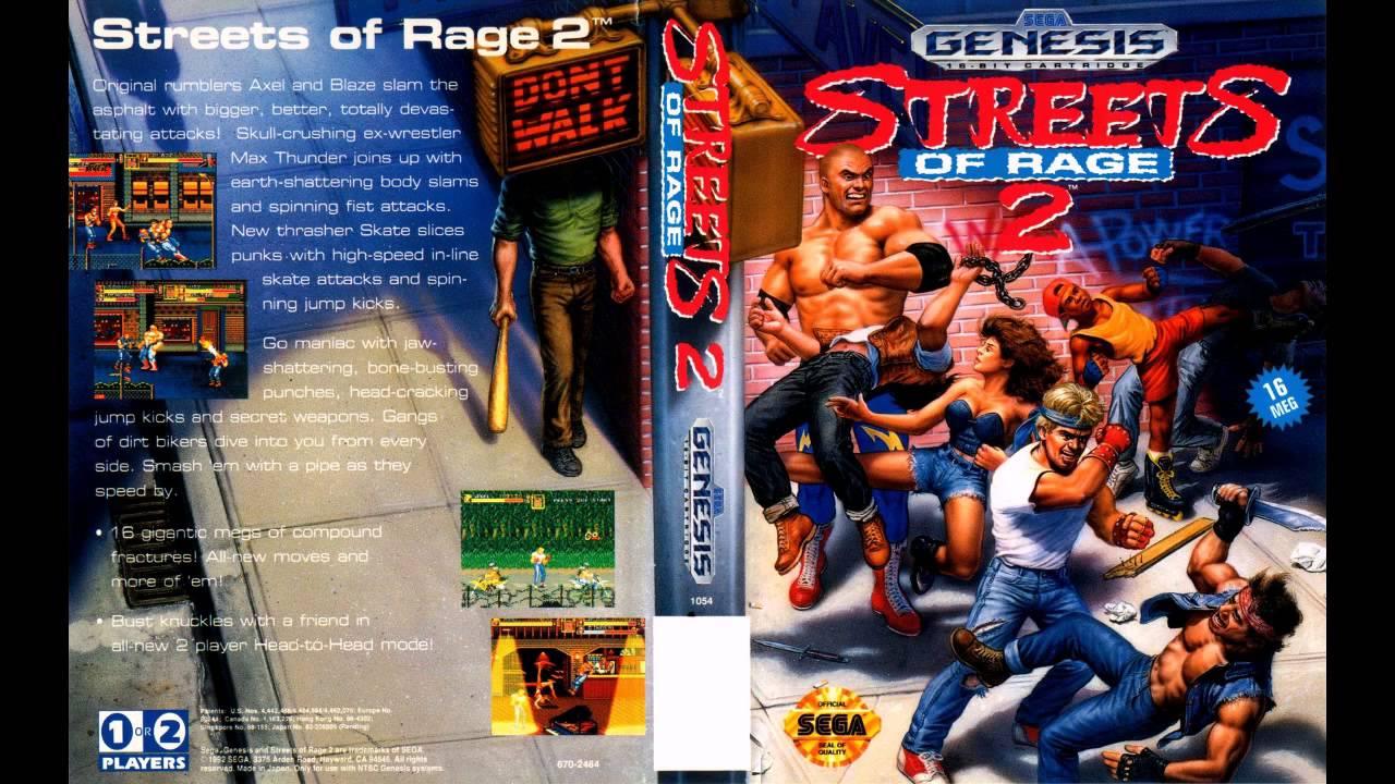 Resultado de imagen para street of rage 2
