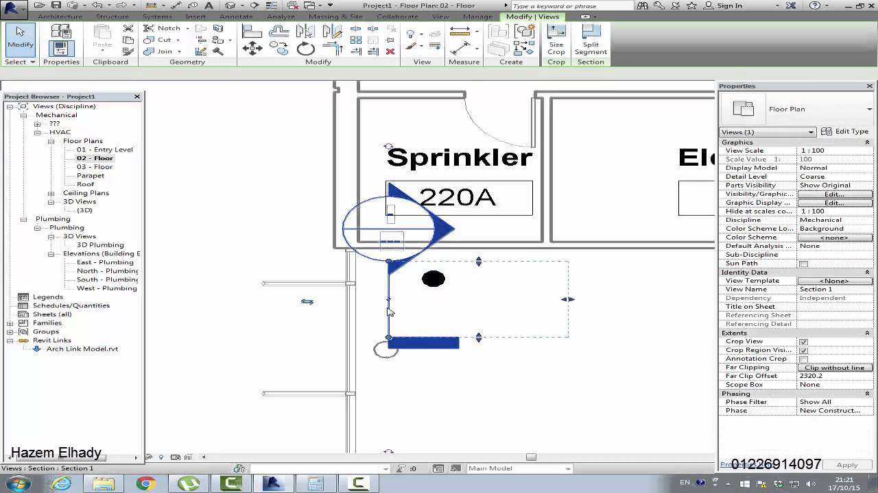 fire fighting system on REVIT - YouTube