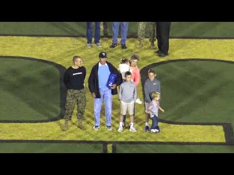 Col. Bill Brooks Induction into the Great American Rivalry Football Hall of Fame