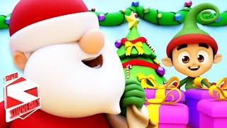 Jingle Bells Christmas Songs | Christmas Carols For Kids | Xmas Music with Super Supremes