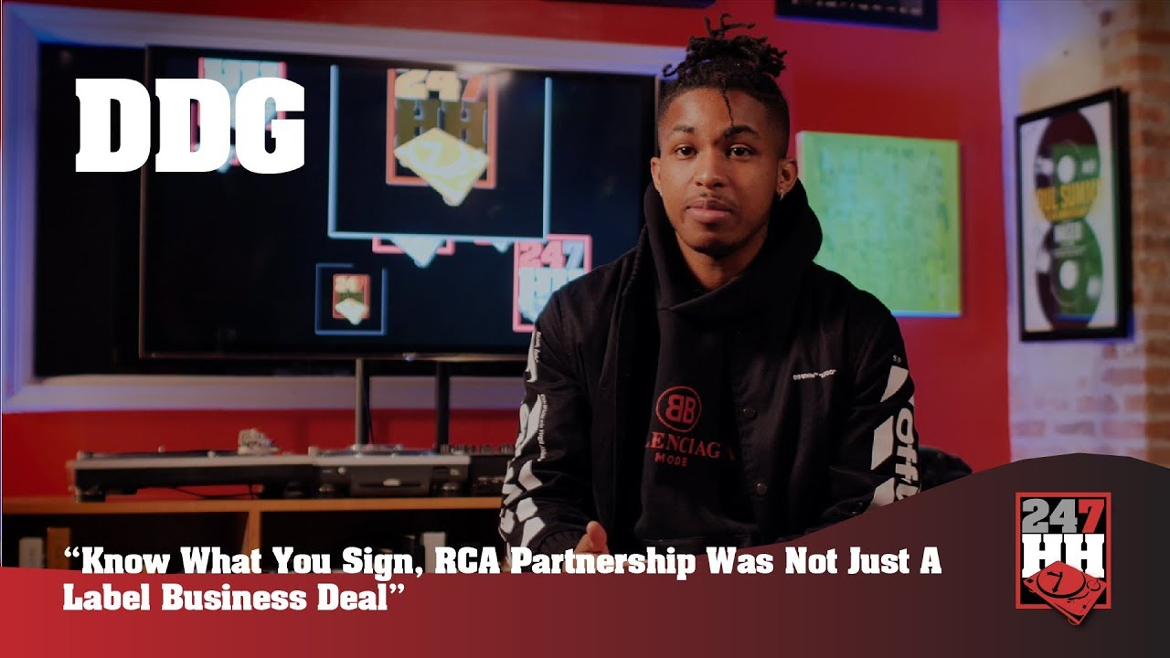 DDG - Know What You Sign, Epic Records Partnership Was Not Just A Label  Business Deal (247HH EXCL)