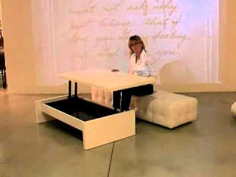 Yoyo table smart furniture youtube for Smart furniture and decor