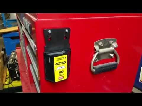 Magnetic mount toolbox hack