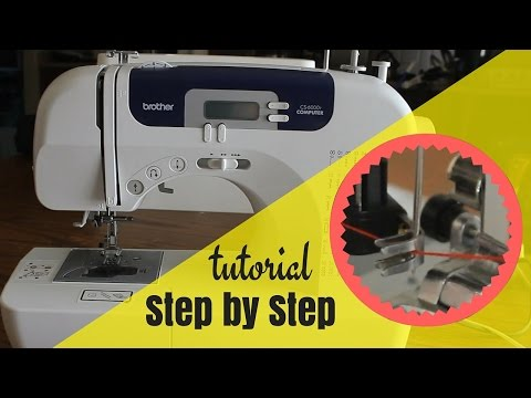 How to Set Up Brother CS6000I Sewing Machine | Easy Step by Step Tutorial