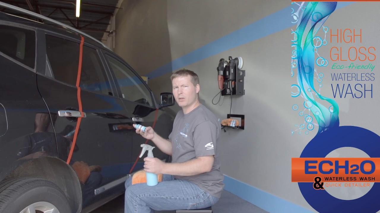 Carpro Ech2o Waterless Wash How To Video Youtube