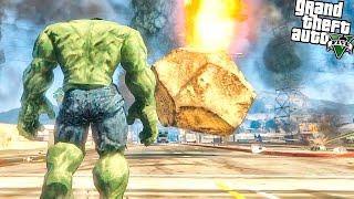 GTA 5 Моды: ХАЛК ПРОТИВ МЕТЕОРИТОВ | Hulk vs Meteors(Эпичная битва Халка против Метеоритов в gta 5 - В этой серии халк постарается справиться с метеоритным дождем,..., 2016-07-10T14:00:55.000Z)
