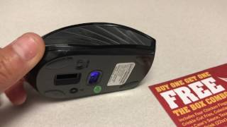 How to change the battery in a Staples Wireless Mouse!