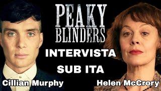 Peaky Blinders Intervista SUB ITA - Tommy E Polly Shelby - Cillian Murphy E Helen McCrory