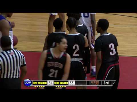 Game of the Week Play of the Game: Tech Boston Junior Shamar Browder Steal, Basket and the Foul