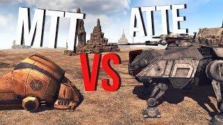 ТАНК MTT VS РЕСПУБЛИКАНСКИЙ ATTE   Men Of War Star Wars   ЗАРИСОВКИ #28