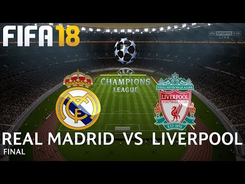 FIFA 18 (PC) Real Madrid v Liverpool | UEFA CHAMPIONS LEAGUE FINAL | 26/5/2018 | 1080P 60FPS