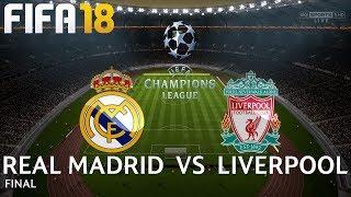 Video FIFA 18 (PC) Real Madrid v Liverpool | UEFA CHAMPIONS LEAGUE FINAL | 26/5/2018 | 1080P 60FPS download MP3, 3GP, MP4, WEBM, AVI, FLV Agustus 2018