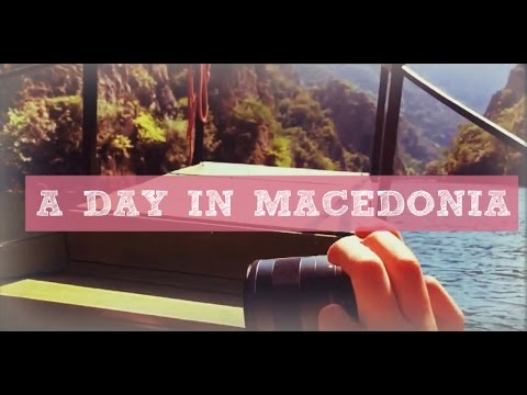 Travel Diary || A day in Macedonia
