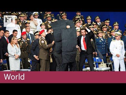 Maduro blames Colombia for failed drone attack