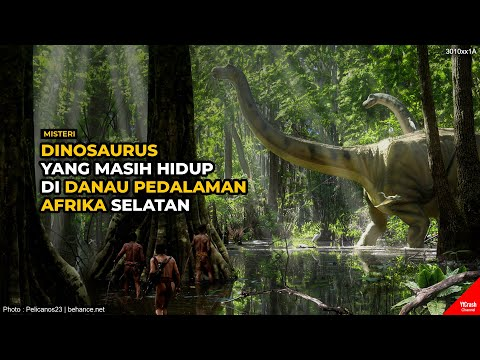 DIANGGAP MITOS! Inilah Dinosaurus yang Masih Hidup di Danau Pedalaman Afrika yg Diklaim Warga Kongo