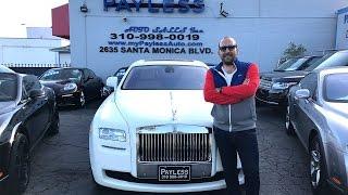 İki Milyonluk Rolls Royce Ghost ile Santa Monica'da Gazladık
