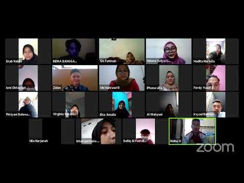 Sosialisasi Pemilihan Duta Bahasa Provinsi Banten 2021 Zona Satu