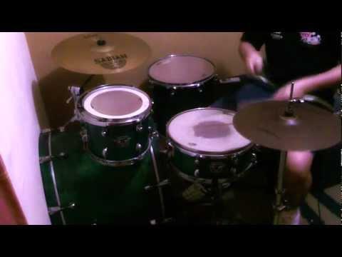 Viva Rock - Orange Range .-Drum Cover-. 3rd Naruto Ending
