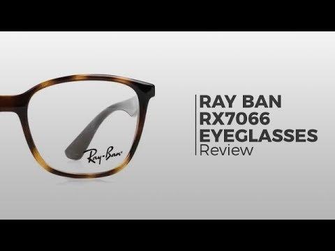 5d341078f9 Ray Ban RX7066 Active Lifestyle Eyeglasses