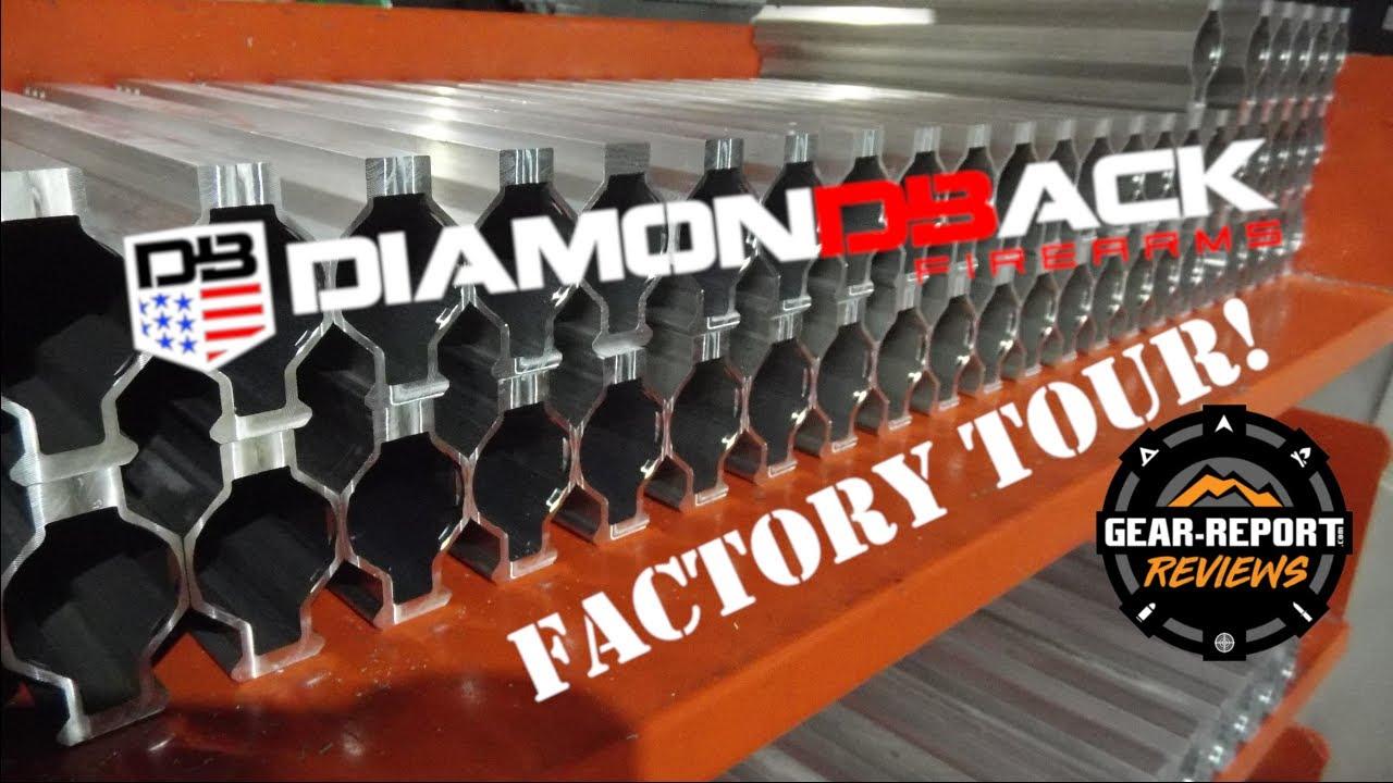 Diamondback Firearms Factory Tour