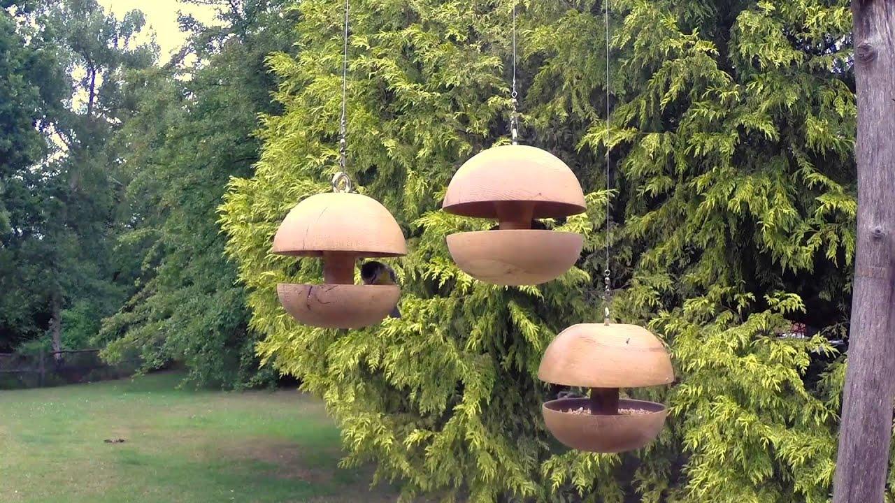 natural wood company oak bird feeder sample youtube. Black Bedroom Furniture Sets. Home Design Ideas