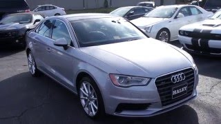 2015 Audi A3 2.0T Quattro Walkaround, Start up, Tour and Overview