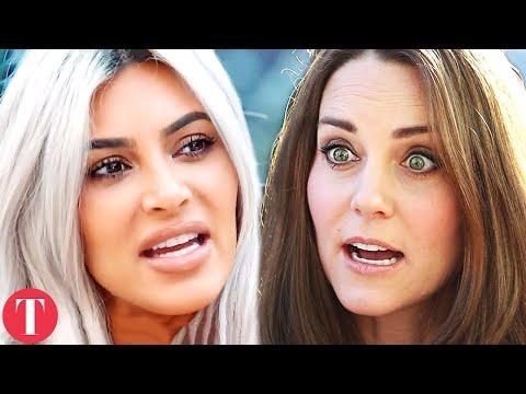 Kim Kardashian VS Kate Middleton: Fashion Influence