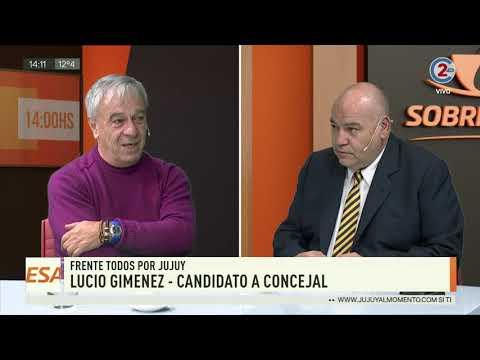 Sobremesa: Lucio Giménez