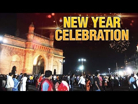 New Year Celebration 2017   Gateway Of India  Mumbai   YouTube