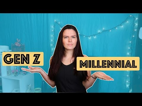 Are You Generation Z or a Millennial? | What's the Difference? ||  Larissa Joelle