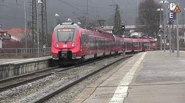 Garmisch-Partenkirchen Bahnhof mit Zugspitzbahn 29.12.2018
