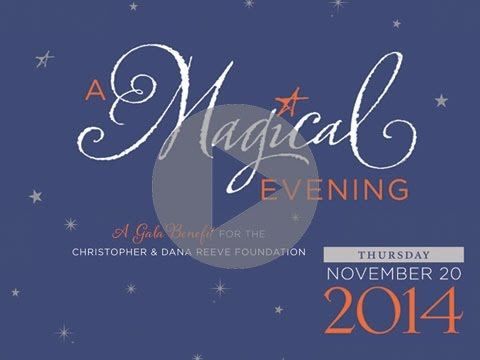 Highlights from 2014 A Magical Evening Reeve Foundation Benefit Gala