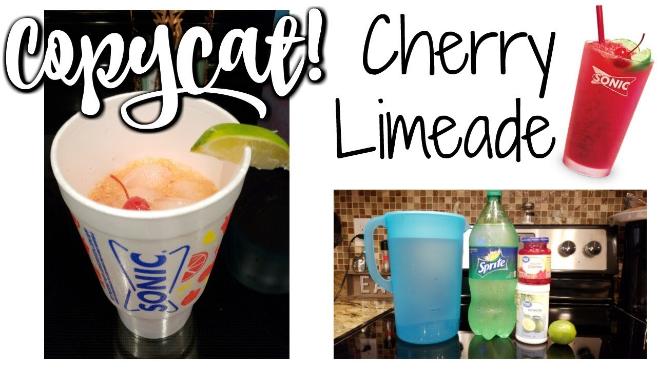 Copycat Sonic Cherry Limeade Foodie Fridays Youtube