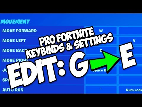 PRO FORTNITE PLAYER KEYBINDS & SETTINGS (JANUARY 2020)