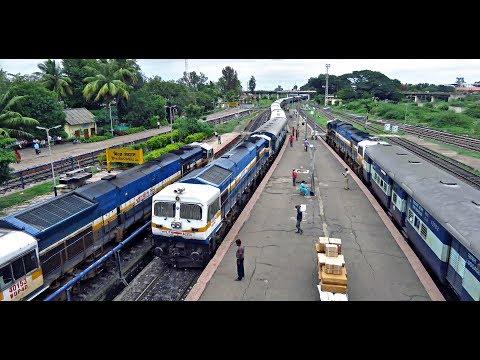 PUNE To KOLHAPUR : Train Journey Onboard Nizamuddin Express
