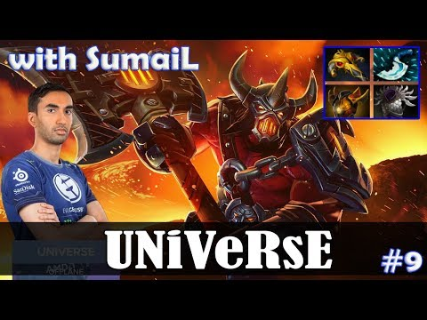 Universe - Axe Offlane | with SumaiL (Chaos Knight) | Dota 2 Pro MMR Gameplay #9