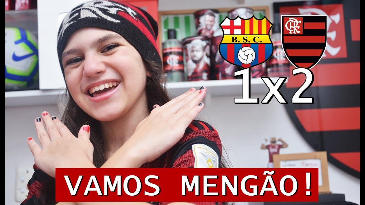 Barcelona-EQU x Flamengo: Vamos Mengão! Vamos reagir!