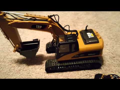 Top Race® 15 Channel Full Functional Professional RC Excavator,