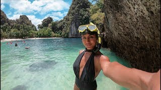 WOW THIS PLACE IS STUNNING! | HONG ISLAND KRABI THAILAND | BEST ISLANDS IN THAILAND