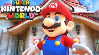 Super Nintendo World - All Trailers Nintendo Theme Park + Look Inside