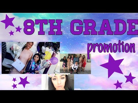 Get ready with me/8th Grade promotion part 1
