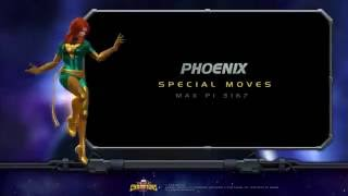 Phoenix Special Moves | Marvel Contest of Cha...