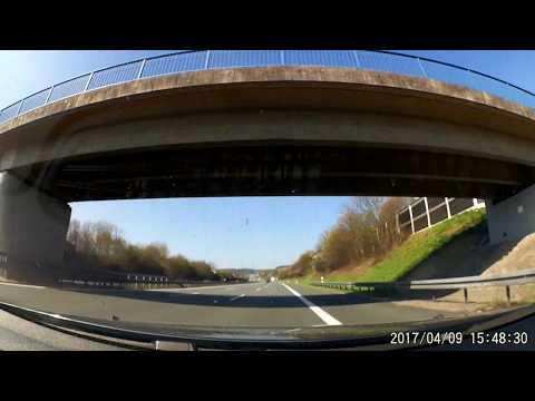 Driving on European highways (1400 km): CZ - SK - A - D - CZ / part 2 /